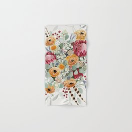 Fall Protea Bouquet Hand & Bath Towel