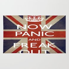 NOW PANIC AND FREAK OUT Rug