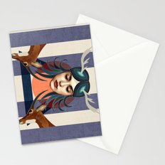 Antelope Girl Stationery Cards