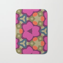 Flower-Caleidoscope Bath Mat