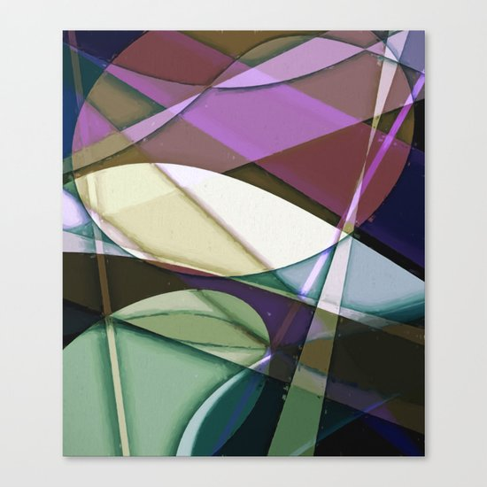 Abstract #368 Canvas Print