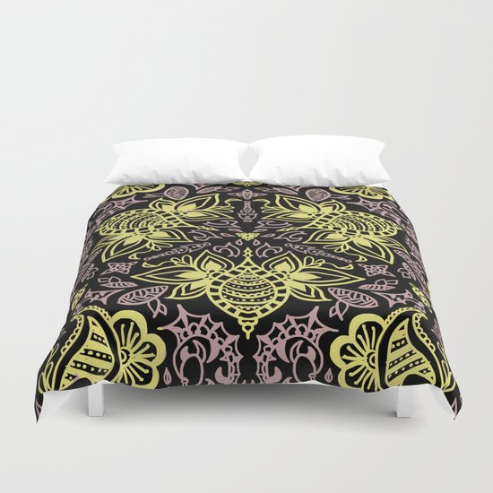 Bee-pink Duvet Cover