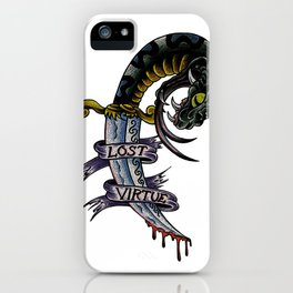 Lost Virtue iPhone Case