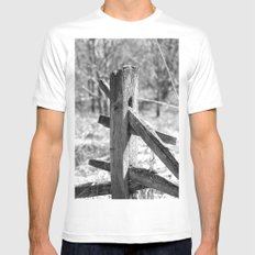 Tree of Life MEDIUM White Mens Fitted Tee