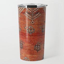 Bakhshaish Azerbaijan Northwest Persian Carpet Print Travel Mug