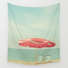Deserted Beach Wall Tapestry