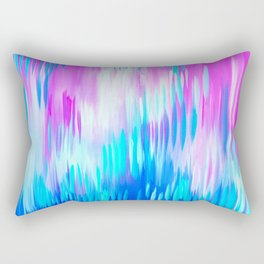 Happy Abstract Paintings Rectangular Pillow