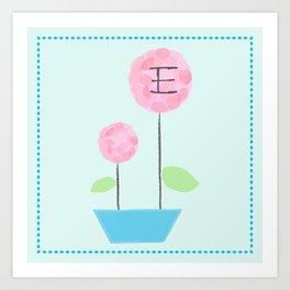 Flower E Art Print