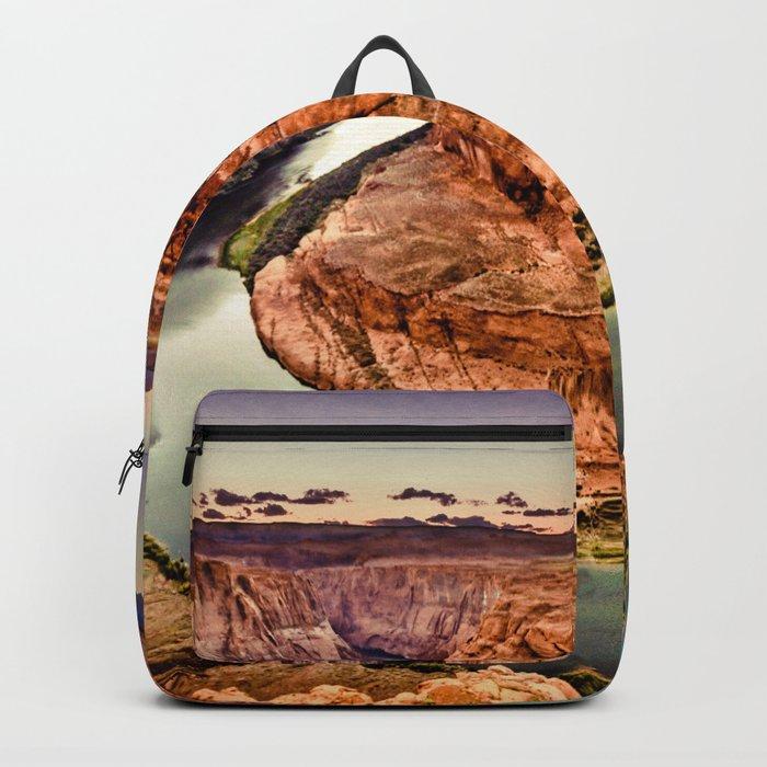 Horseshoe Bend Grand Canyon Arizona Backpack