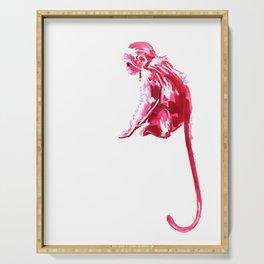 Monkeying Around! Ink Monkey Serving Tray
