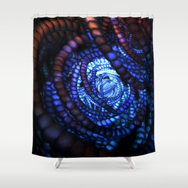 Recursion Shower Curtain