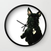 chelsea Wall Clocks featuring Chelsea by Zayda Barros