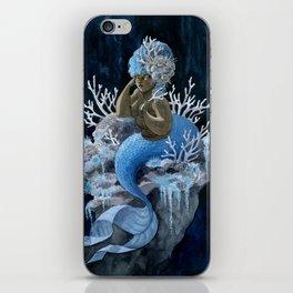 Antler Coral Mermaid iPhone Skin