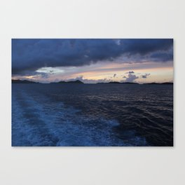 Lost Wake Canvas Print