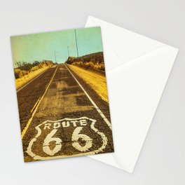 Route 66 Road Marker Stationery Cards