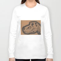 dinosaur Long Sleeve T-shirts featuring Dinosaur  by My Pencil Said So