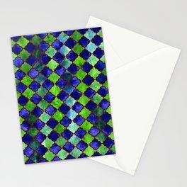 Spyjack Arabesque Digital Quilt Stationery Cards