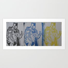 BM STAMP Art Print