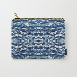 Shiso Shibori Satin Carry-All Pouch