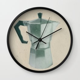 Coffee Blues Wall Clock