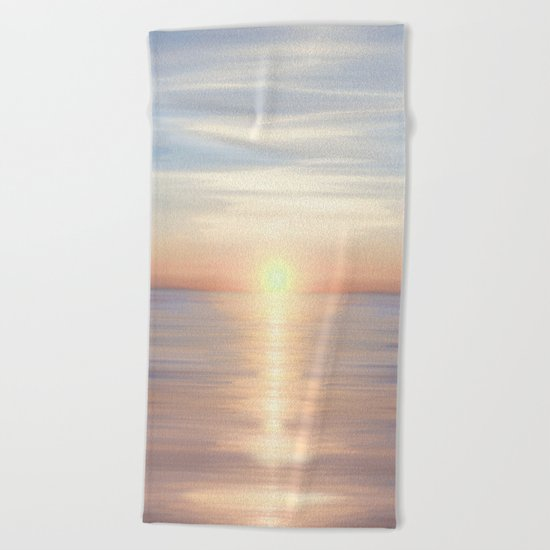 Sea of Love II Beach Towel
