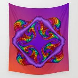 fluid -4- Wall Tapestry