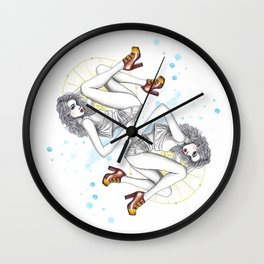 CL Shoes 05 Wall Clock