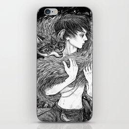 Magic fox iPhone Skin