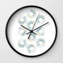 Rotation - Evergreen Wall Clock