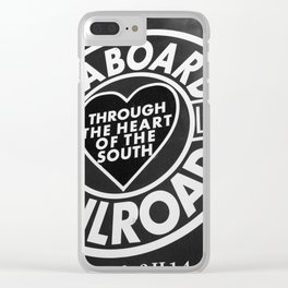 Through the Heart Clear iPhone Case