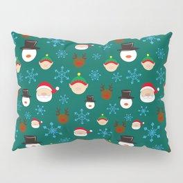 Christmas Four with Snowflakes Pillow Sham