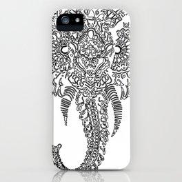 The Elephant Mask iPhone Case