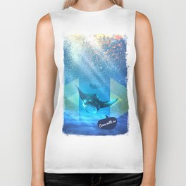 Come with us Biker Tank