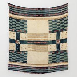 V43 Old Epic Moroccan Carpet Design Wall Tapestry