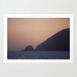 Point Mugu Sunset Art Print