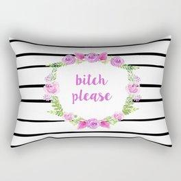 Bitch Please Rectangular Pillow