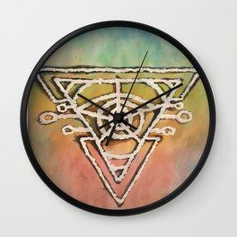 Geometric Portal Wall Clock