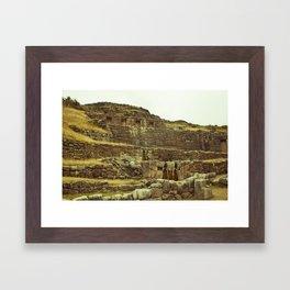 Tambomachay Framed Art Print