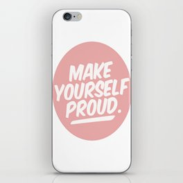 make youreself iPhone Skin