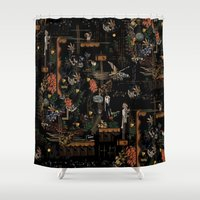 new year Shower Curtains featuring new year by PAULTHEODORE