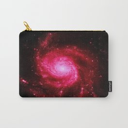 Spiral GalAXy : Hot Pink Carry-All Pouch