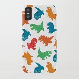 Dinosaurs iPhone Case