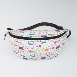 Colorful Cameras Fanny Pack