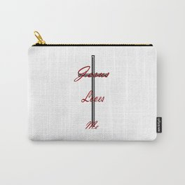 Jesus loves me by EmiliePP Carry-All Pouch