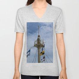 Light Vessel Mast Unisex V-Neck