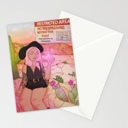 Desert witch Stationery Cards