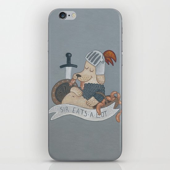 Sir Eats-A-Lot iPhone & iPod Skin