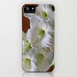 Fresh Gladioli  iPhone Case