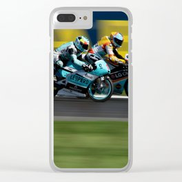 ready for the takeover Clear iPhone Case