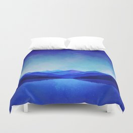 Midnight Blue Duvet Cover